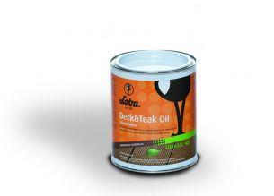 Ulei de impregnare pentru suprafețe din lemn în aer liber Deck&Teck transparent, LOBA, 0.75ml cod 10615-T-0.75 - Intretinere si curatare
