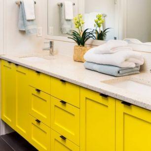 Folie autocolanta d-c-fix pentru mobilier culoare galben mat cod 200-0895 - Promotii