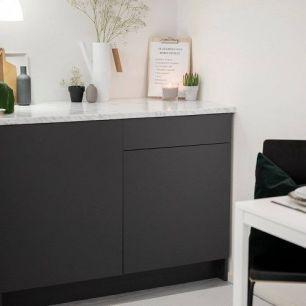 Folie autocolanta d-c-fix pentru mobilier culoare gri antracit mat cod 200-8289 15m x 67.5cm - D-C-Fix