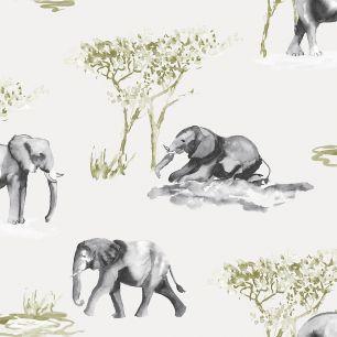 Fototapet copii, safari colectia Thomas cod 27144 - Promotii tapet