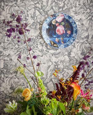 Tapet floral Eijffinger colectia Museum cod 307340 - Tapet floral