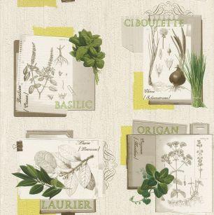 Tapet frunze Rasch cod 307405 - Tapet bucatarie