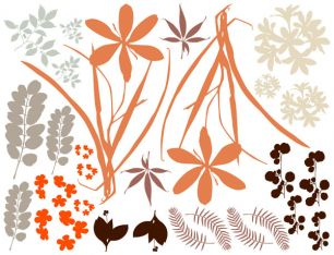 Sticker decorativ d-c-fix model floral cod 3500017 - Elemente decorative