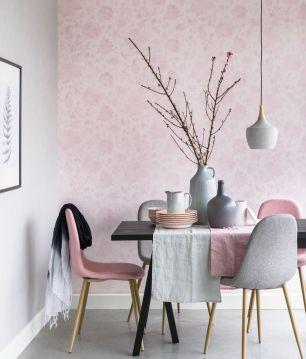 Tapet floral roz Eijffinger cod 363041 - Tapet decorativ