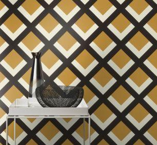 Tapet geometric Rasch colectia Denzo II cod 401943 - Tapet bucatarie