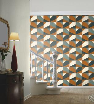 Tapet geometric Rasch colectia Club cod 419252 - Tapet dungi