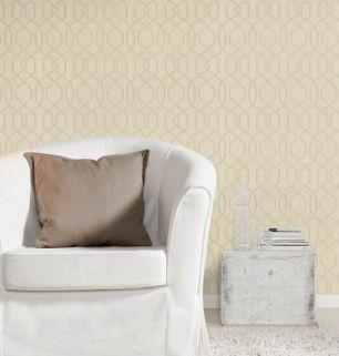 Tapet geometric Rasch colectia Home Design cod 420739 - Tapet dormitor