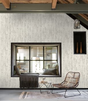 Tapet Rasch colectia Brick Lane I cod 427301 - Tapet piatra-lemn-beton