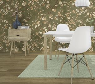 Tapet floral Rasch colectia Denzo II cod 456714 - Tapet bucatarie