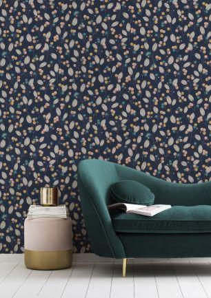 Tapet floral Rasch colectia Home Design cod 463088 - Tapet bucatarie