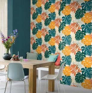 Tapet floral Rasch colectia Denzo II cod 529302 - Tapet bucatarie