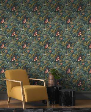 Tapet jungle Rasch colectia Sansa cod 639216 - Tapet abstract