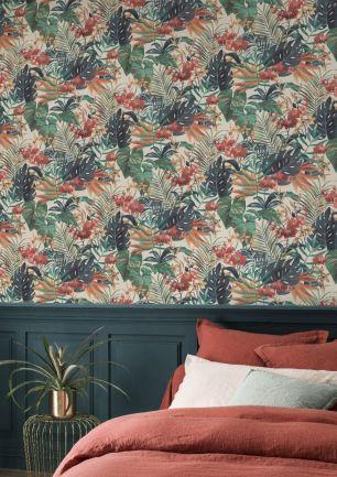 Tapet floral Rasch colectia Home Design cod 833126 - Tapet bucatarie