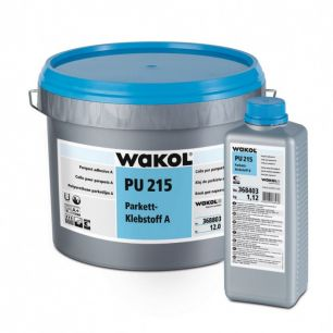 Adeziv elastic pentru parchet WAKOL PU 215 12 kg componenta A - Adezivi