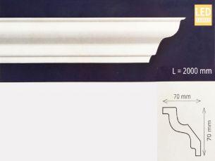 Bagheta decorativa M100, pentru iluminat cu leduri - Elemente decorative