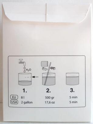 Adeziv Powder Plus 250 pentru tapet din fibra de sticla