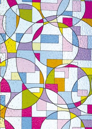 Folie electrostatica Linea cod 503-4652GLSc 0.46m x 1.5m - Folii decorative la bucata