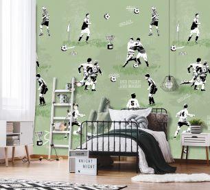 Fototapet copii, fotbal colectia Thomas cod INK7096 - Promotii tapet
