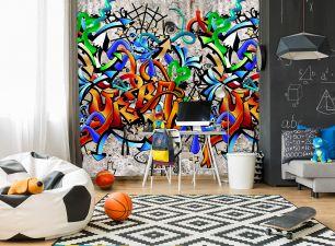 Fototapet copii graffiti colectia Thomas cod INK7101 - Promotii tapet