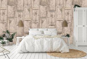 Fototapet lemn cu efect 3D colectia Passion For Materials cod INK7382 - Tapet piatra-lemn-beton