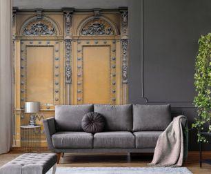 Fototapet elegant Paris cu efect 3D colectia Passion For Materials cod INK7399 - Tapet industrial