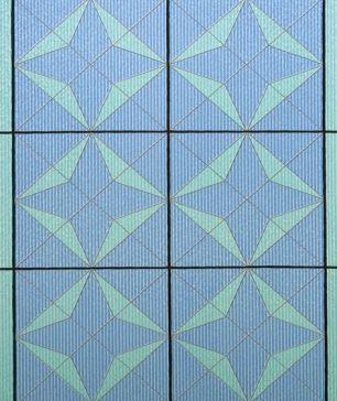 Folie electrostatica Linea cod 503-CHARTES 0.46m x 1.5m - Folii decorative la bucata
