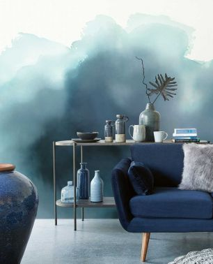 Tapet Aquarelle Eijffinger colectia Waterfront panel cod 300913 - Tapet living