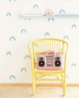 Tapet copii curcubeu Eijffinger colectia Mini Me cod 399013 - Tapet camera copii