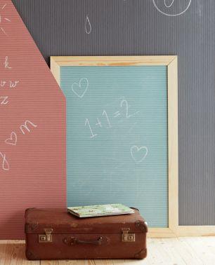Tapet copii Chalkboard Eijffinger colectia Mini Me cod 399020 - Tapet camera copii
