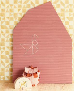 Tapet copii Chalkboard Eijffinger colectia Mini Me cod 399021 - Tapet camera copii