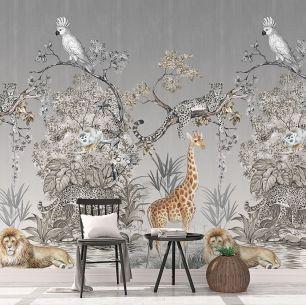 Fototapet jungle colectia Select.D cod TD4115 - Tapet floral